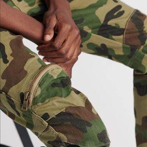NWT Decibel fashion woodland camo pants 36/32
